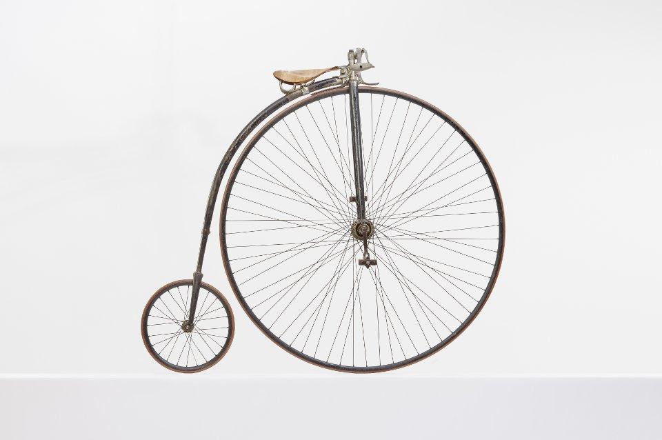 ein fuer fahrraeder made in germany fotografiertes fahrrad Schlick und Hinkelmann Komet